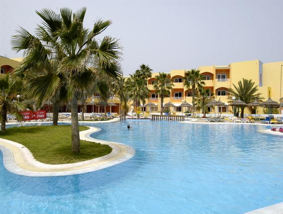 H tel club look a playa djerba 4 toiles for Hotels djerba